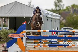 Broeckaert Cedric, BEL, Jeunesse Van De Kleite<br /> Groenten Jumping - Sint Kathelijne Waver 2020<br /> © Hippo Foto - Dirk Caremans<br /> 21/07/2020