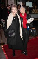 Lindsay Duncan and Dame Sian Phillips at the On Blueberry Hill play press night, Trafalgar Studios, London, 11 Mar 2020 Photo by Brian Jordan