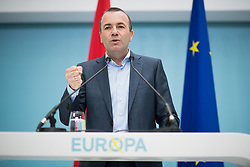 04.05.2019, Sofiensäle, Wien, AUT, ÖVP, Wahlkampfauftakt zur EU-Wahl. im Bild EVP-Spitzenkandidat Manfred Weber // topcandidate of the EPP Manfred Weber during  campaign opening regarding to Eurpean Parliment Elections of the Austrian People' s Party in Vienna, Austria on 2019/05/04. EXPA Pictures © 2019, PhotoCredit: EXPA/ Michael Gruber