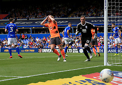 Paul McShane of Reading reacts as a chance goes just wide - Mandatory by-line: Paul Roberts/JMP - 26/08/2017 - FOOTBALL - St Andrew's Stadium - Birmingham, England - Birmingham City v Reading - Sky Bet Championship