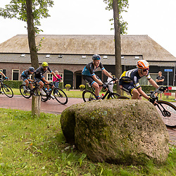 VELDHOVEN (NED) July 4 <br /> CYCLING <br /> The first race of the Schwalbe Topcompetition the Simac Omloop der Kempen<br /> Kopgroep met o.a. Tijmen Eising