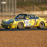 #73, Porsche 911 Carrera RSR 3.0l (1974), driven by Michel Lecourt and Raymond Narac on 06/07/2018 at the Le Mans Classic, 2018