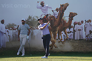 Renato Paratore (ITA) on the 8th during Round 2 of the Oman Open 2020 at the Al Mouj Golf Club, Muscat, Oman . 28/02/2020<br /> Picture: Golffile | Thos Caffrey<br /> <br /> <br /> All photo usage must carry mandatory copyright credit (© Golffile | Thos Caffrey)