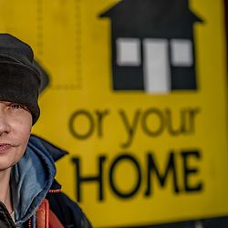 Mark receives no benefits and has spent over 6 month homeless.
