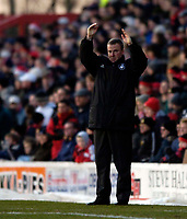 Photo: Jed Wee.<br />Doncaster Rovers v Swansea City. Coca Cola League 1.<br />17/12/2005.<br />Swansea manager Kenny Jackett.