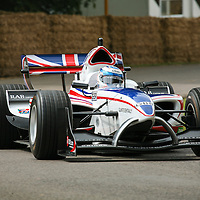 2005 Robbie Kerr of Great Britain drives his A1GP, Goodwood Festival of Speed 2007