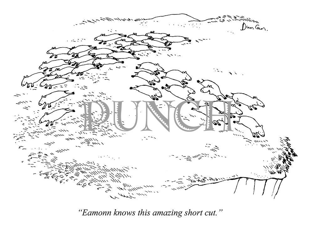 """Eamonn knows this amazing short cut."""