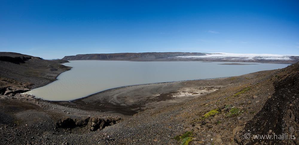 The lake Hagavatn, highlands of Iceland -  Hagavatn