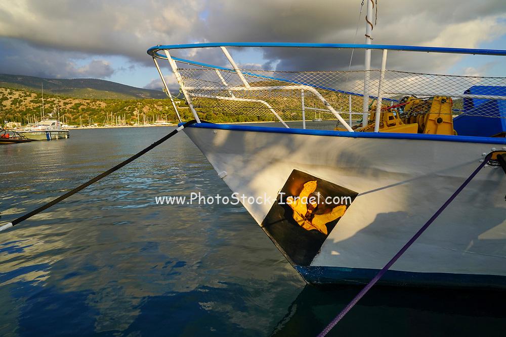 Argostoli on the Greek Island of Cephalonia, Ionian Sea, Greece