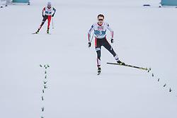 04.03.2021, Oberstdorf, GER, FIS Weltmeisterschaften Ski Nordisch, Oberstdorf 2021, Herren, Nordische Kombination, Einzelbewerb, Langlauf, im Bild Jarl Magnus Riiber (NOR) // Jarl Magnus Riiber of Norway during the Cross Country Competition of men Nordic combined Single of FIS Nordic Ski World Championships 2021 in Oberstdorf, Germany on 2021/03/04. EXPA Pictures © 2021, PhotoCredit: EXPA/ Dominik Angerer