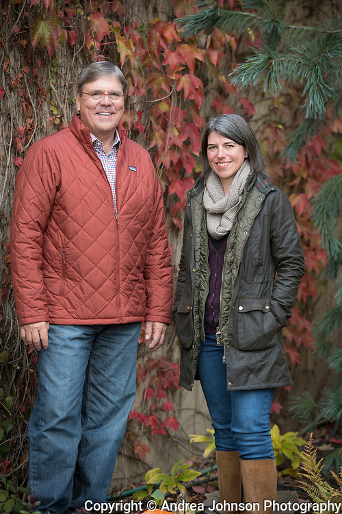 Lavinea, Isabelle Munier & Greg Ralston, at Lazy River Vineyard, one of their vineyard sources for their pinot noir, Yamhill-Carlton AVA, Willamette Valley, Oregon