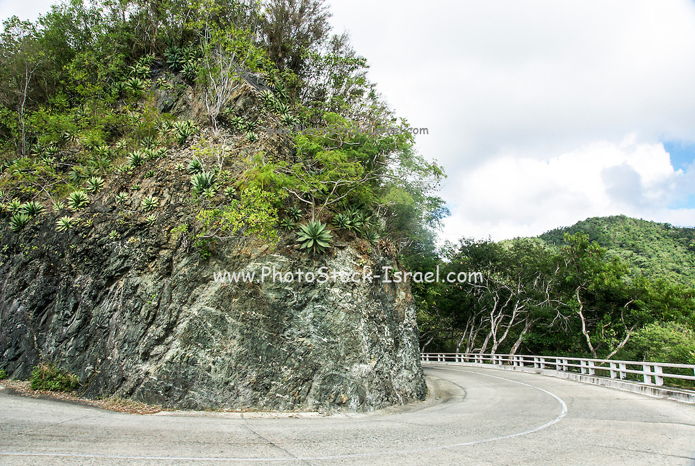 winding scenic road, Guantanamo Province, Cuba