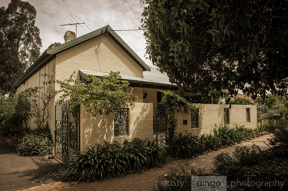 Anzac Poppy Plaque house in Guildford, Western Australia