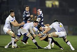 - Photo mandatory by-line: Joseph Meredith/JMP - Tel: Mobile: 07966 386802 25/01/2013 - SPORT - RUGBY - Memorial Stadium - Bristol. Bristol v Leeds Carnegie - RFU Championship.