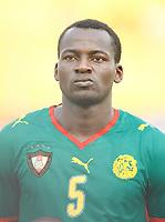 Photo: Steve Bond/Richard Lane Photography.<br />Cameroun v Zambia. Africa Cup of Nations. 26/01/2008. Thimothee Atouba of Cameroon & Hamburg