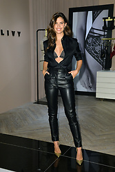 February 12, 2019  New York City<br /> <br /> Angel Sara Sampaio and designer Lisa Chavy celebrate French lingerie label LIVY at the Victoria's Secret Fifth Avenue flagship store on February 12, 2019 in New York City.