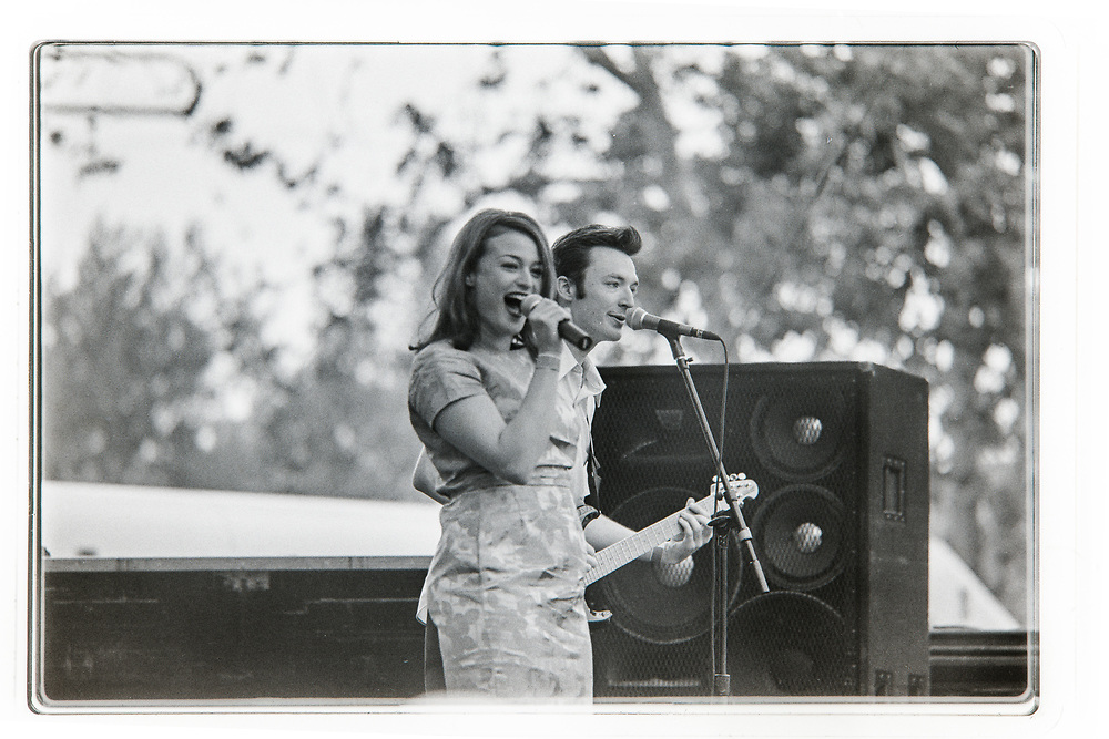 Save Ferris performing at the For the Kids fundraiser in Oak Canyon Ranch In Irvine, CA on April 19, 1997. (Photo by Miguel Vasconcellos)