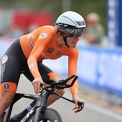26-09-2020: wielrennen: WK weg vrouwen: Imola<br /> Ellen van Dijk (Netherlands)