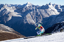 22.10.2016, Rettenbachferner, Soelden, AUT, FIS Weltcup Ski Alpin, Soelden, Riesenslalom, Damen, 1. Durchgang, im Bild Eva-Maria Brem (AUT) // Eva-Maria Brem of Austria in action during 1st run of ladies Giant Slalom of the FIS Ski Alpine Worldcup opening at the Rettenbachferner in Soelden, Austria on 2016/10/22. EXPA Pictures © 2016, PhotoCredit: EXPA/ Johann Groder