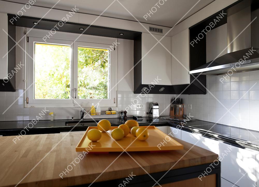 beautiful apartment interior, modern furniture