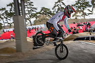 #179 (MARQUART Simon M.) SUI at the 2018 UCI BMX Superscross World Cup in Saint-Quentin-En-Yvelines, France.