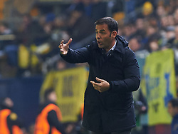 December 7, 2017 - Vila-Real, Castellon, Spain - Javier Calleja head coach of Villarreal CF during the Europa League match between Villarreal CF and Maccabi Tel Aviv at Estadio de la Ceramica on december 7, 2017 in Vila-real, Spain. (Credit Image: © Maria Jose Segovia/NurPhoto via ZUMA Press)