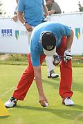 Een dag voor het KLM Open wordt de KLM pro Am gespeeld. Amateurs spelen gezamenlijk met een speler van de European Tour , sponsoren en genodigden op de toernooibaan van Kennemer Golf & Country Club .<br /> <br /> Op de foto:<br /> <br />  Pieter van Vollenhoven <br /> <br /> The day before the KLM Open, the KLM pro Am games. Amateurs play together with one player from the European Tour, sponsors and invited guests at the tournament path of Kennemer Golf & Country Club.