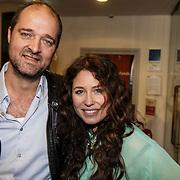 NLD/Leiden/20150127 - Premiere Verleiding van een Moordvrouw , Kees Boot en Sanne Vogel