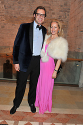 MAX KONIG & JULIET FETHERSTONHAUGH at the Women for Women International UK Gala held at the Guildhall, City of London on 3rd May 2012.