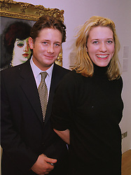 The EARL OF HARDWICKE and MISS JENNY MORGAN, at an exhibition in London on 3rd December 1997.MDZ 11