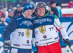 26.01.2019, Streif, Kitzbühel, AUT, FIS Weltcup Ski Alpin, KitzCharityTrophy, im Bild v.l. Hias Leitner (Kitz Legenden), Marc Girardelli (Kitz Legenden) // f.l. Hias Leitner and Marc Girardelli of Kitz Legenden during the KitzCharityTrophy at the Streif in Kitzbühel, Austria on 2019/01/26. EXPA Pictures © 2019, PhotoCredit: EXPA/ Stefan Adelsberger