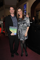 AMANDA LAMB and SEAN McGUINNESS at the opening night of Totem by Cirque du Soleil held at The Royal Albert Hall, London on 5th January 2011.