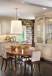 5165 Rockwood Parkway, NW Washington, DC Michele Seiver interior designer Kitchen Dining Room