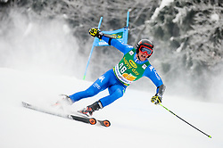 Giulio Giovanni Bosca of Italy competes during 1st run of Men's GiantSlalom race of FIS Alpine Ski World Cup 57th Vitranc Cup 2018, on March 3, 2018 in Kranjska Gora, Slovenia. Photo by Ziga Zupan / Sportida