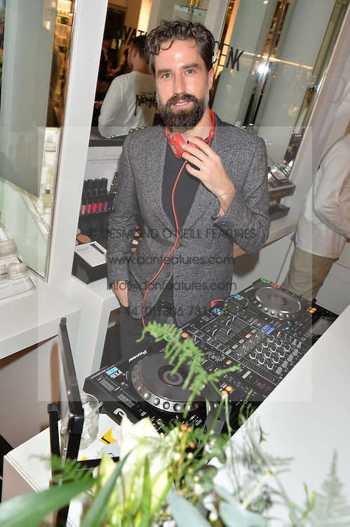 JACK GUINNESS at the launch of the Space NK Global Flagship store at 285-287 Regent Street, London on 10th November 2016.