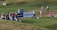 Gary Stal (FRA) on the 13th during Round One of the 2015 Alstom Open de France, played at Le Golf National, Saint-Quentin-En-Yvelines, Paris, France. /02/07/2015/. Picture: Golffile | David Lloyd<br /> <br /> All photos usage must carry mandatory copyright credit (© Golffile | David Lloyd)