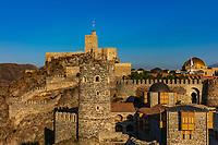Akhaltsikhe , Georgia - August 14, 2019 : Rabati Castle landmark of Samtskhe Javakheti region eastern Europe