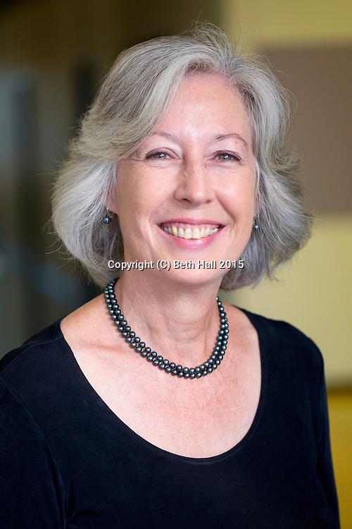 Portrait of Rebecca Miles.