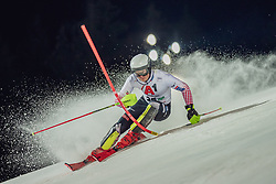 "29.01.2019, Planai, Schladming, AUT, FIS Weltcup Ski Alpin, Slalom, Herren, 1. Lauf, im Bild Elias Kolega (CRO) // Elias Kolega of Croatia in action during his 1st run of men's Slalom ""the Nightrace"" of FIS ski alpine world cup at the Planai in Schladming, Austria on 2019/01/29. EXPA Pictures © 2019, PhotoCredit: EXPA/ Dominik Angerer"