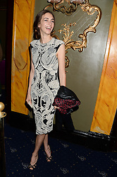 The MARCHIONESS OF CHOLMONDELEY at the Hoping Foundation's 'Rock On' Benefit Evening for Palestinian refuge children held at the Cafe de Paris, London on 20th June 2013.