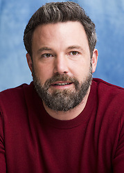 December 6, 2016 - Hollywood, California, U.S. - Ben Affleck promotes 'Live By Night.' Benjamin Geza Affleck-Boldt (born August 15, 1972), better known as Ben Affleck, is an American actor and filmmaker. He began his career as a child actor, starring in the PBS educational series The Voyage of the Mimi (1984, 1988). He later appeared in the coming-of-age comedy Dazed and Confused (1993) and various Kevin Smith films including Chasing Amy (1997) and Dogma (1999). Affleck gained fame when he and childhood friend Matt Damon won the Golden Globe and Academy Award for Best Original Screenplay for Good Will Hunting (1997). He then starred in high-profile films including Armageddon (1998), Shakespeare in Love (1998), Pearl Harbor (2001), Changing Lanes (2002), and The Sum of All Fears (2002). After a career downturn, during which he appeared in Daredevil and Gigli (both 2003), Affleck received a Golden Globe nomination for his performance in Hollywoodland (2006). Affleck's directorial debut, Gone Baby Gone (2007), which he also co-wrote, was well received. He then directed, co-wrote, and starred in the crime drama The Town (2010). For the political thriller Argo (2012), which he directed and starred in, Affleck won the Golden Globe and BAFTA Award for Best Director, and the Golden Globe, BAFTA, and Academy Award for Best Picture. In 2014, he starred in the psychological thriller Gone Girl. Affleck portrays the superhero Batman in the DC Extended Universe, starting with the films Batman v Superman: Dawn of Justice and Suicide Squad (both 2016). The gangster drama Live by Night, which Affleck directed, wrote, produced, and acted in, will be released in 2016. Upcoming: Witness for the Prosecution (2018), Justice League (2017). (Credit Image: © Armando Gallo via ZUMA Studio)