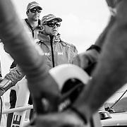 © Maria Muina I MAPFRE. Lisbon practice race on board MAPFRE. Regata de entrenamiento en Lisboa a bordo del MAPFRE.