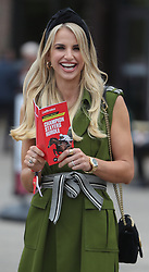 Model Vogue Williams during day three of the Punchestown Festival at Punchestown Racecourse, County Kildare, Ireland.