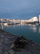 Harbour at Saint-Martin-de-Ré, Ile de Ré, France