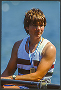 Lucerne, SWITZERLAND, USA W1X, Anne MARDEN, 1988 Lucerne International Regatta, Lake Rotsee. June 1988 [Mandatory Credit - Peter Spurrier/Intersport Images]