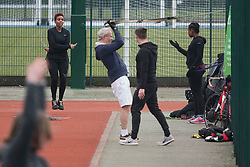 © Licensed to London News Pictures. 04/04/2020. London, UK. People exercising in close proximity Paddington Recreation Ground in London, during a pandemic outbreak of the Coronavirus COVID-19 disease. The public have been told they can only leave their homes when absolutely essential, in an attempt to fight the spread of coronavirus COVID-19 disease. Photo credit: Ben Cawthra/LNP
