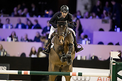 Hetzel Holger, GER, Come To Win<br /> Jumping Indoor Maastricht 2016<br /> © Hippo Foto - Dirk Caremans<br /> 12/11/2016
