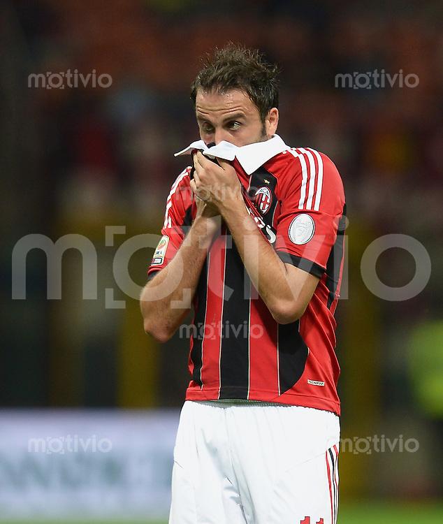 FUSSBALL INTERNATIONAL   SERIE A   SAISON 2012/2013    AC Mailand - Atalanta  15.09.2012 Pazzini Giampaolo (AC Mailand)