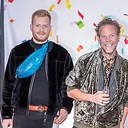 NLD/Amsterdam/20170919 - Opening Hudson Bay Nederland, Bastiaan van Schaik en partner Ramon Heinhuis