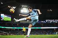 Jesus Navas of Manchester City during the English Premier League match at The Etihad Stadium, Manchester. Picture date: December 12th, 2016. Photo credit should read: Lynne Cameron/Sportimage
